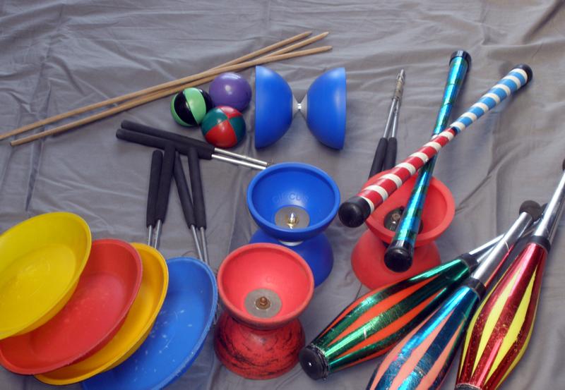 Circusevents Koeln juggling props