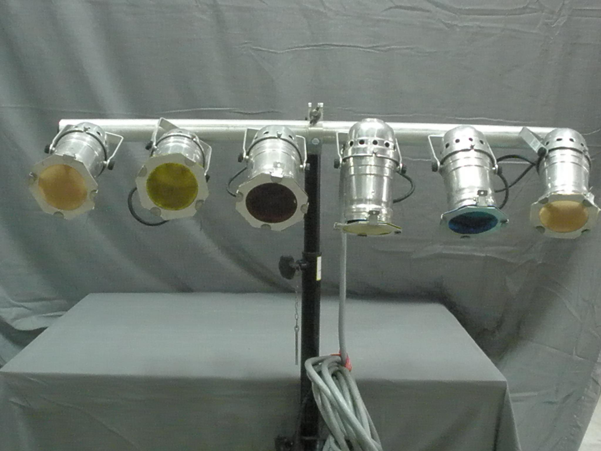 Circusevents Koeln lighting system PAR 36