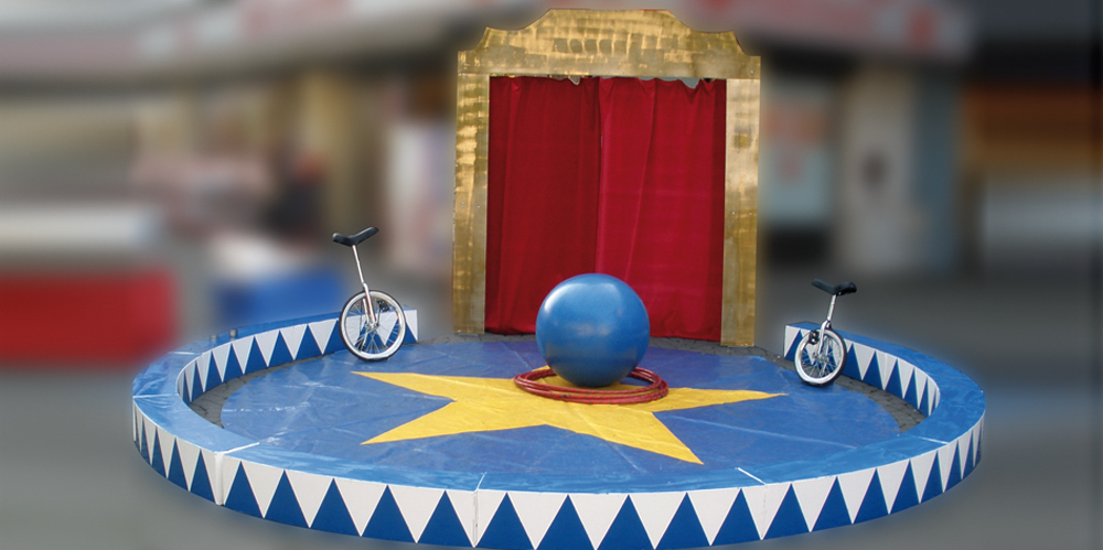 Diy circus circus tent circus decoration rental or for Zirkus dekoration