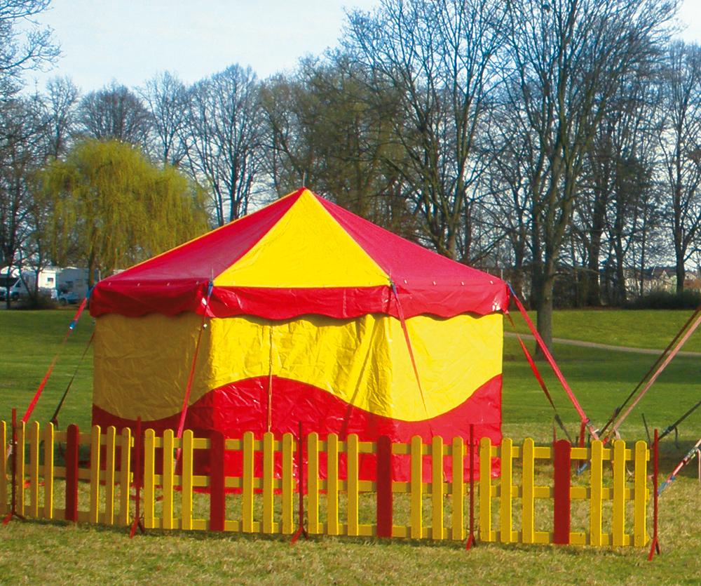 Circusevents Köln Zelt 1 5m rund 1 Mast