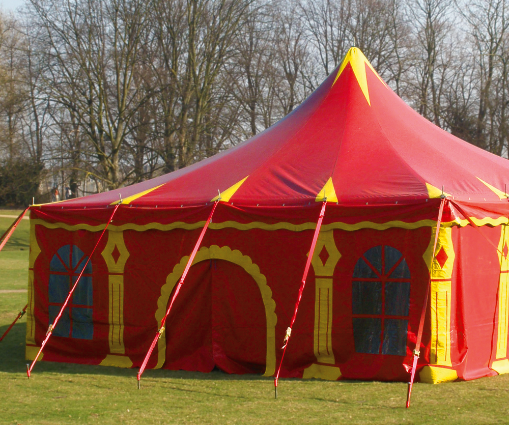 Circusevents Köln Zelt 2 8 x 8 m eckig 1 Mast