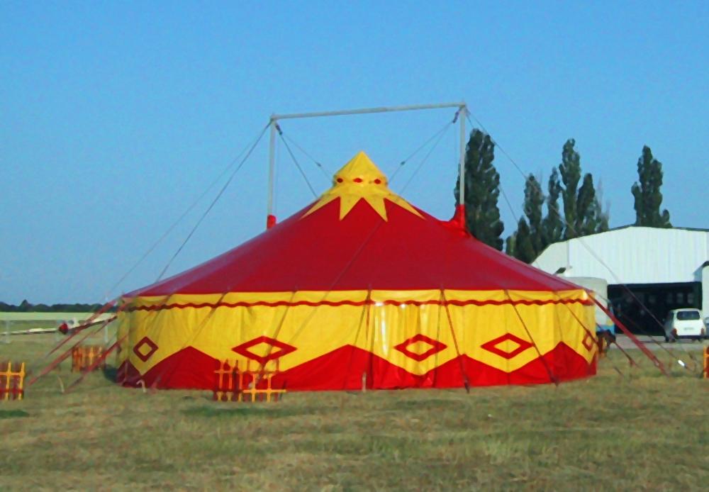 Circusevents Köln Zelt 5 14 m rund 2 Masten