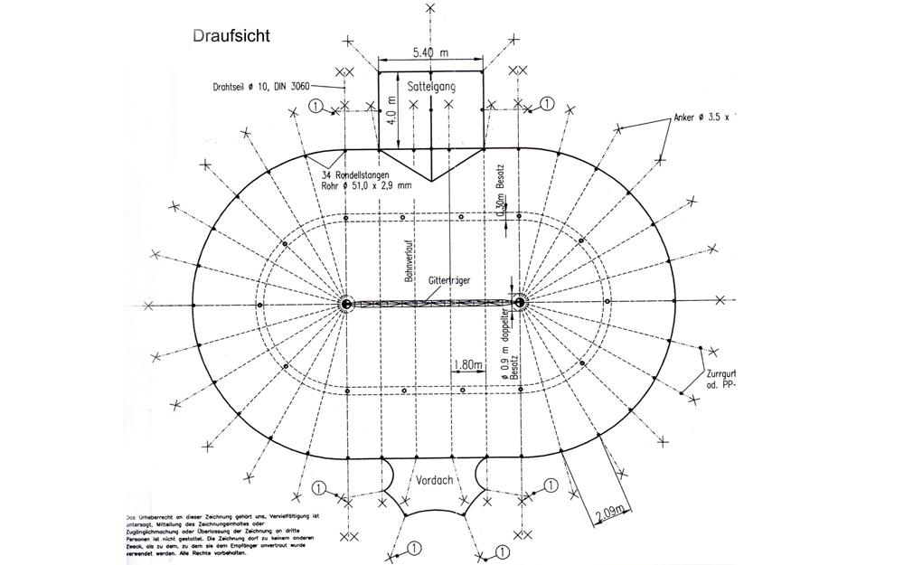 Diameter Area Interior height (middle) Interior height (side) Exterior design Interior design  sc 1 st  Circus tent u0026 circus decoration rental or book a circus act ... & Circus Tent 16 m x 25 m oval u2013 344 sq.m u203a Circus tent u0026 circus ...