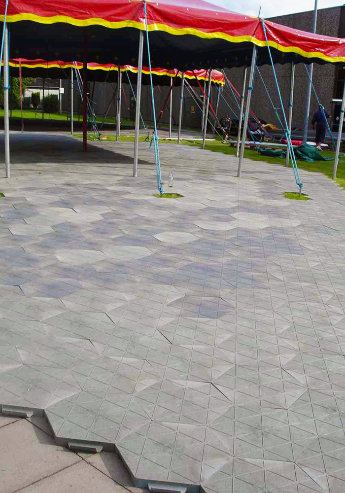 Circusevents Koeln Tent Floor honeycomb floor