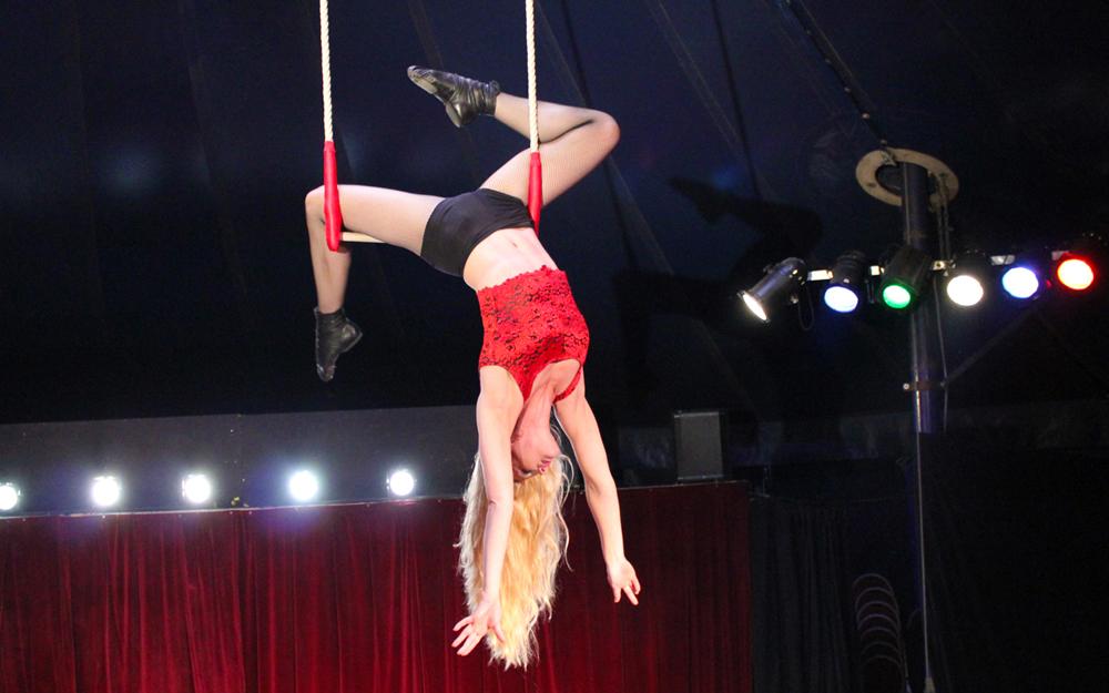 Circusevents Köln Trapez Show